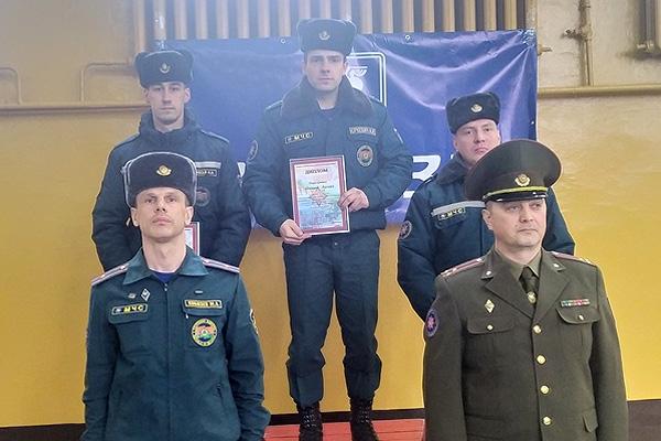 Второе место на областном конкурсе профмастерства занял начальник караула Толочинский РОЧС