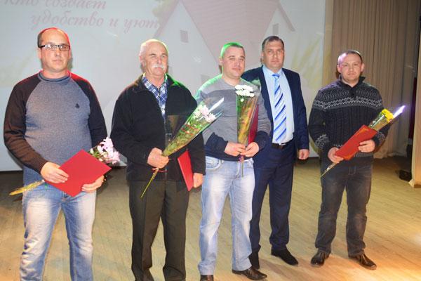 Поздравления принимали толочинские коммунальщики (+фото)