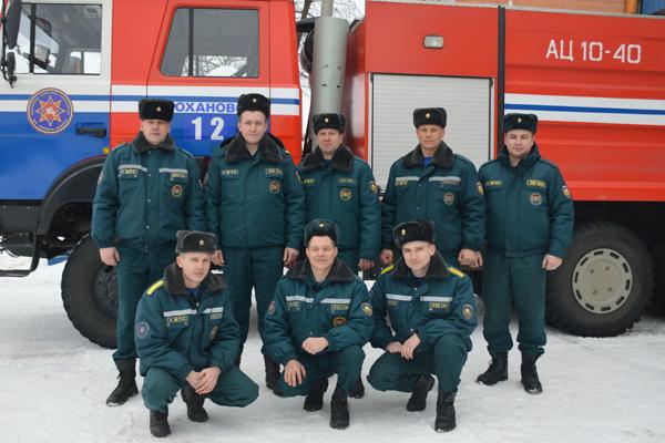 Кохановскому аварийно-спасательному посту — 35 лет