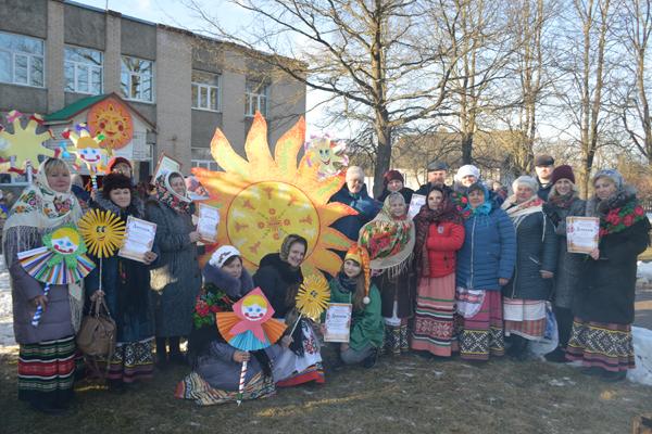 В агрогородке Низкий Городец состоялся праздник «У Матрёны на блинах» (+фото)