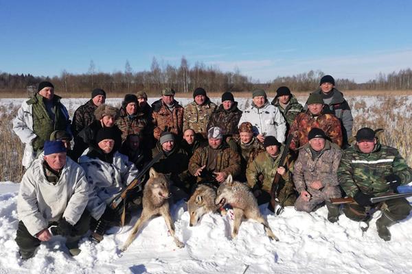 На помощь природе пришли толочинские охотники