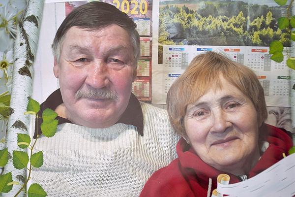 Золотую свадьбу отметила семья Труханёнков из Низкого Городца