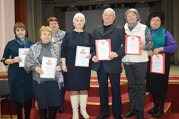 В Толочине прошла отчётно-выборная конференция Толочинской районной организации объединения ветеранов