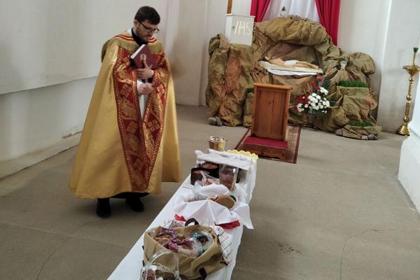 Католики Толочинского района готовятся к празднованию Пасхи