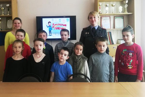 Встреча с инспектором ГАИ состоялась в Центре детей и молодёжи в Толочине
