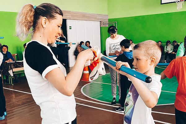 «МамаЗал» состоялся на базе средней школы №1 Толочина