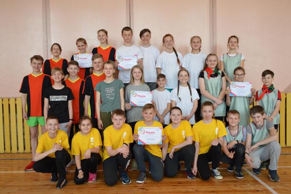 В Толочине прошли районные соревнования среди пионерских дружин