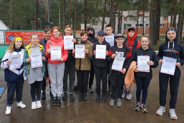 Ребята из Толочинского района приняли участие в соревнованиях «Придвинская весна»