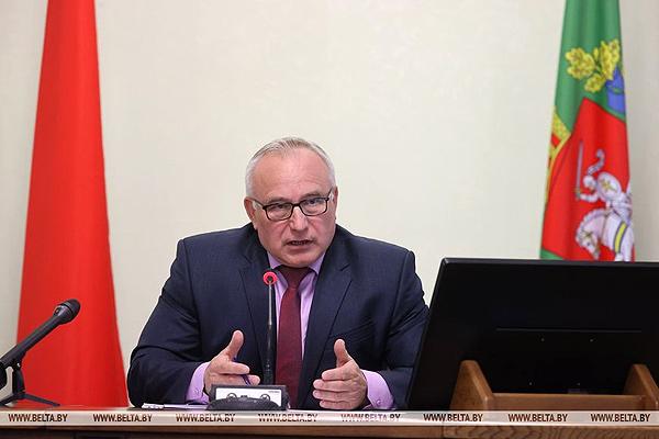 Глава Витебской области Николай Шерстнёв на встрече с журналистами рассказал о развитии региона