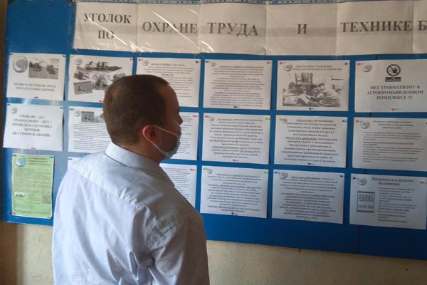 Готовность сельхозпредприятий Толочинского района к уборочной кампании проверили профсоюзы