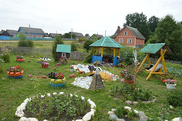 В числе лучших по благоустройству в Толочинском районе отмечены шесть объектов Серковицкого сельсовета (+фото)