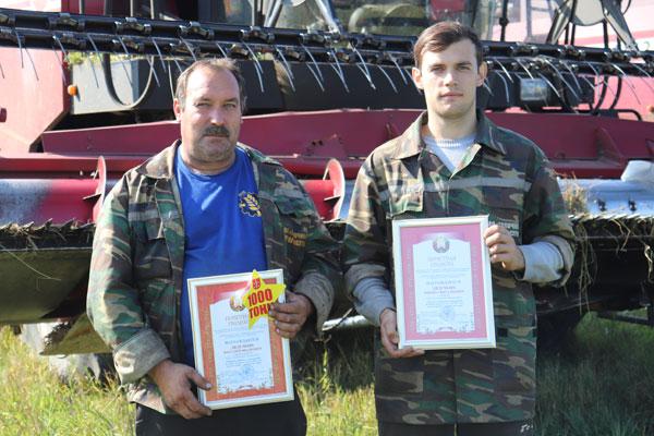 Семейный экипаж ОАО «Толочинский райагросервис» традиционно в числе лучших в районе