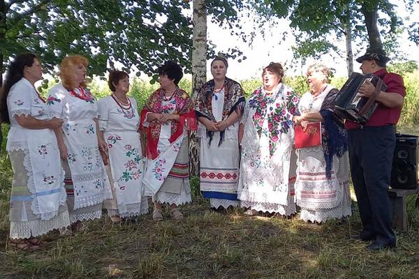 Состоялся праздник деревень Кривые и Шупени