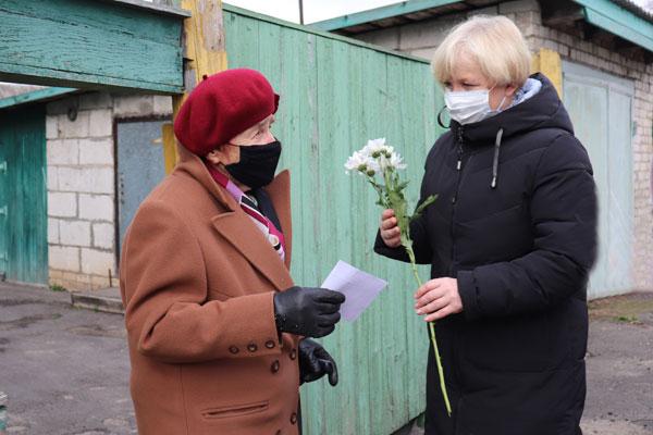 В Толочинском районе прошла республиканская акция «Поздравим маму вместе!»
